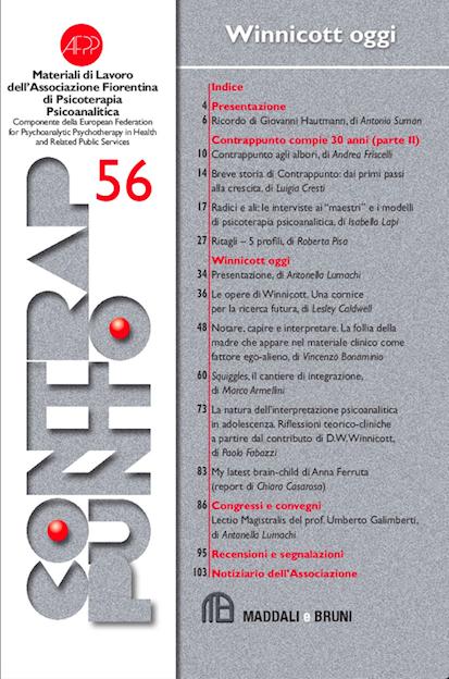 Contrappunto n.56 - Copertina